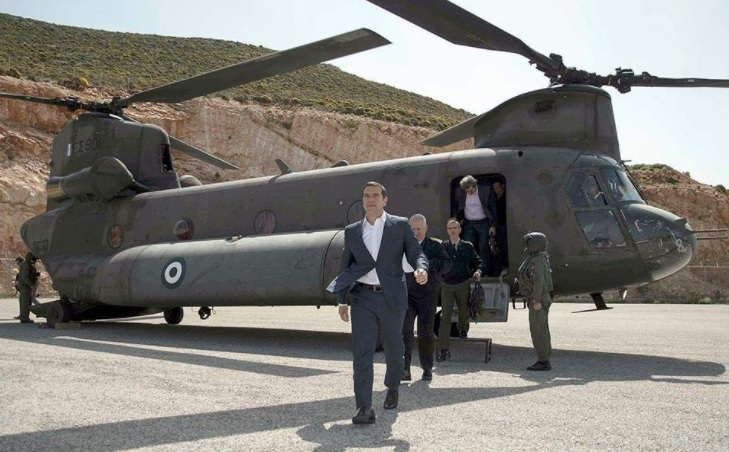 Turkish fighters harass Greek Prime Minister Chinook helicopter