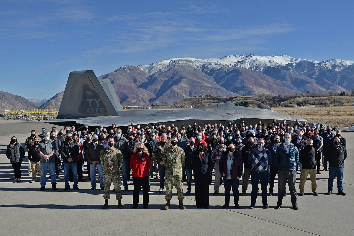 This F-22 is the last Raptor to receive structural modifications to increase total flying hour serviceability by 8,000 hours.