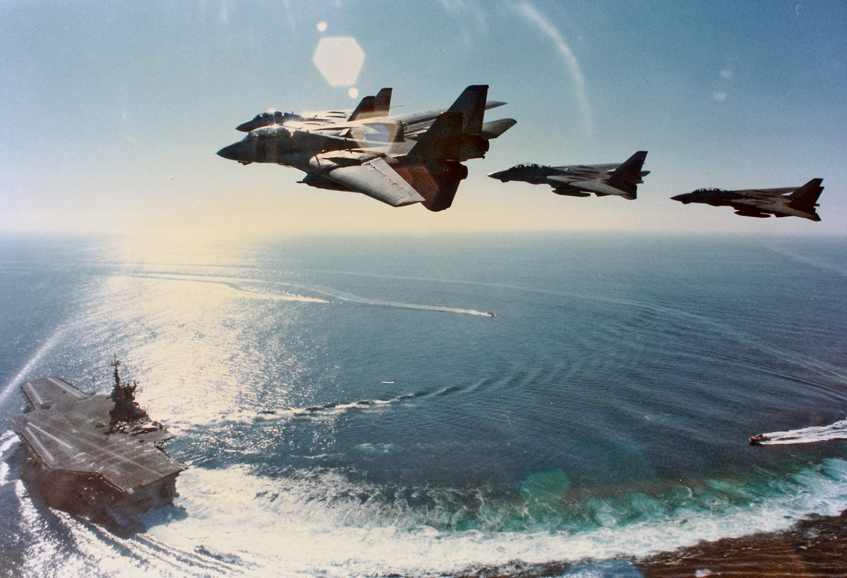 """Launching the Phoenix and dogfighting against the F-15: Q & A with F-14 Tomcat RIO Dave """"Bio"""" Baranek Part 2"""