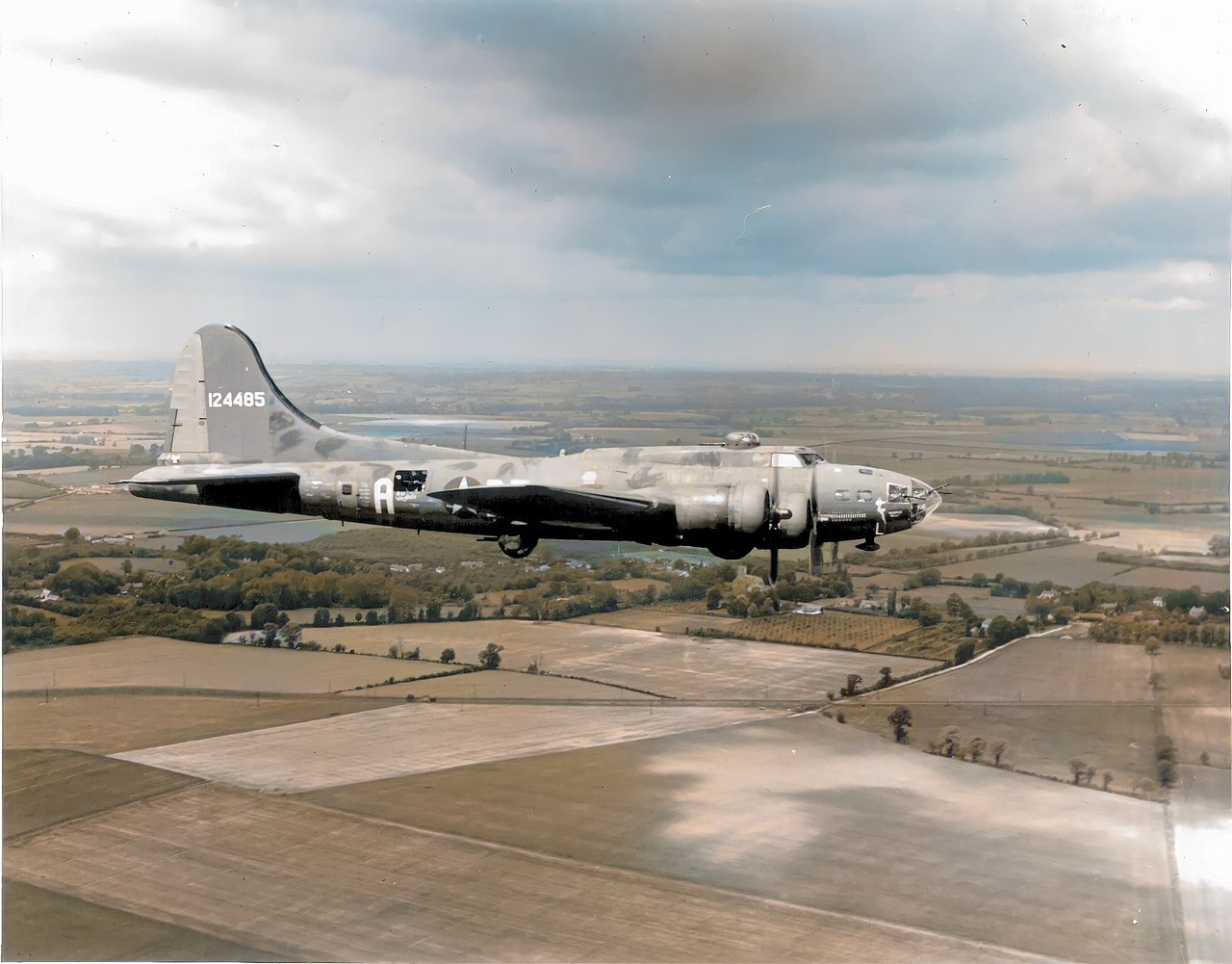 """Did you know the """"Memphis Belle"""" was almost called """"Little One""""? The story of how B-17 Army 41-24485 got her legendary name"""
